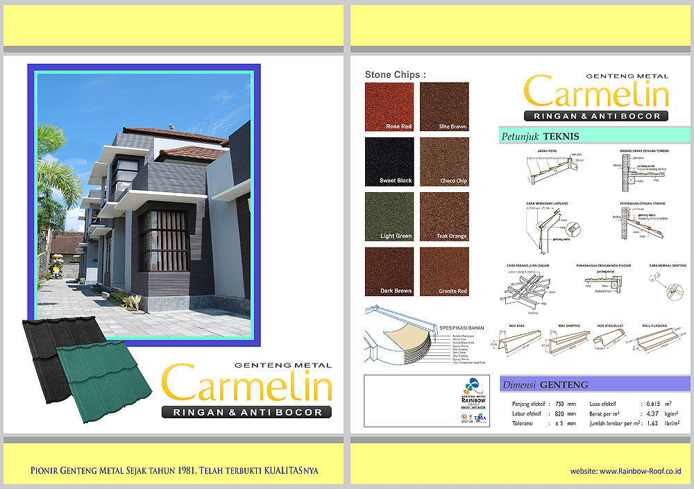 Genteng Metal Carmelin Roof