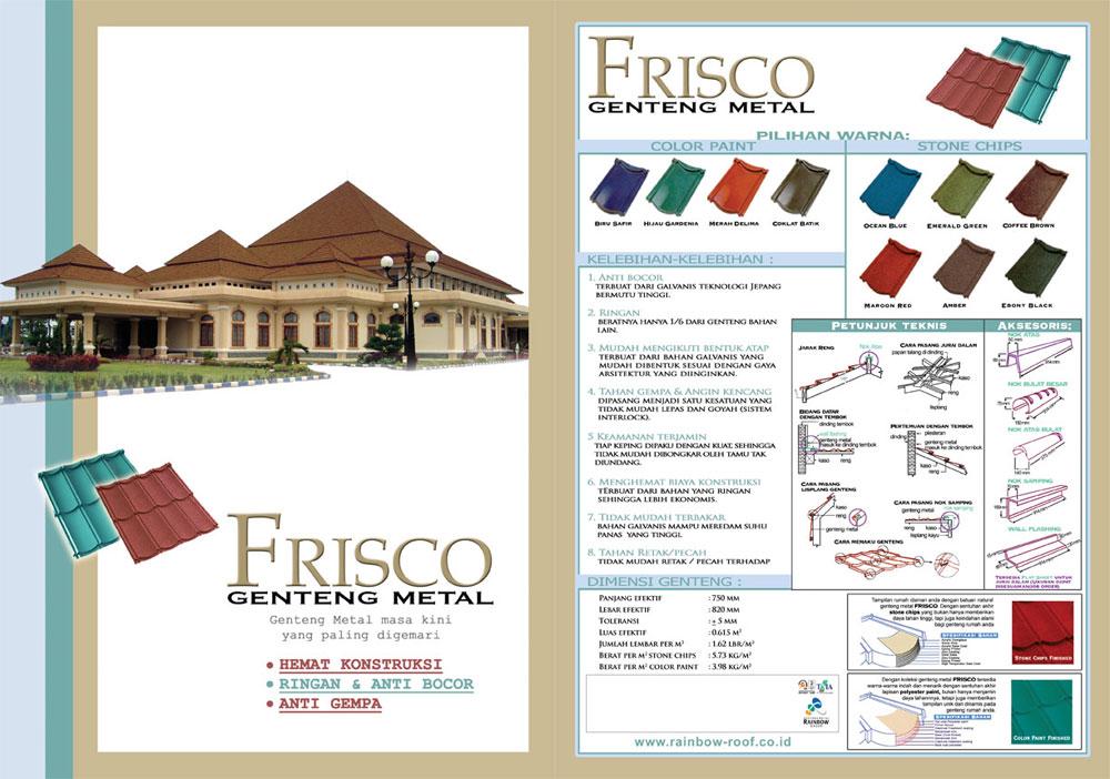Genteng Metal Frisco