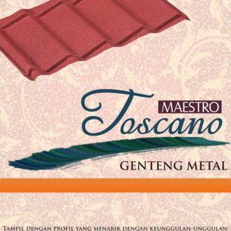 Genteng Metal Toscano Roof