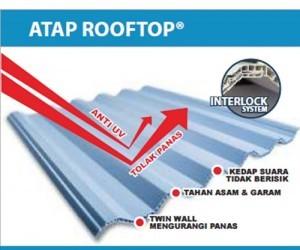 harga atap upvc rooftop alderon