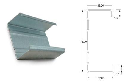 profil c 75 range 33 baja ringan